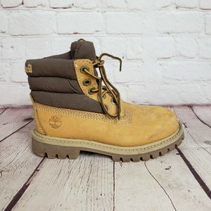 Timberland Premium Wheat Padded Collar Boots